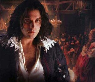Rufus Sewell as Charles II in The Last King