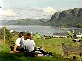 Isobel and Gary enjoying a picnic above Loch Dubh