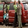 Missi Pyle and Robert Cavanah in Soccer Mom